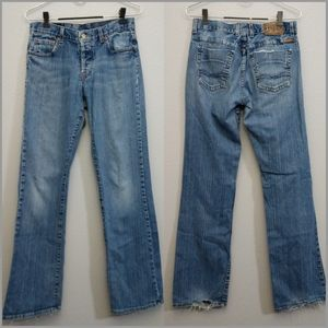 Lucky Brand 4 / 27 Distressed Jeans Urban Rider